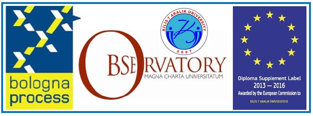 Kilis 7 Aralık University Bologna Magna Charta