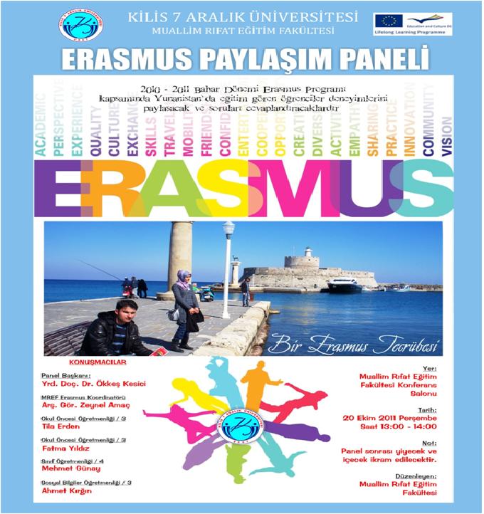 Erasmus Sharing Panel